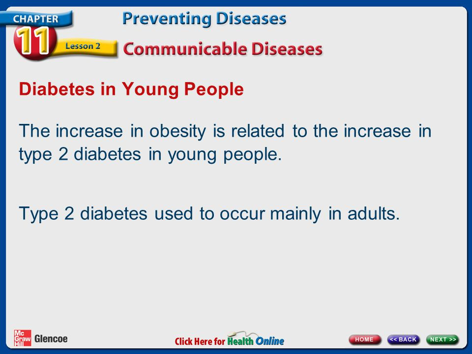 Diabetes in Young People