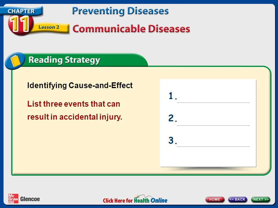 1. 2. 3. Identifying Cause-and-Effect