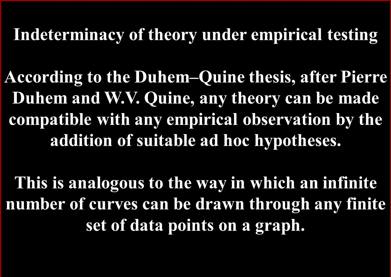 can theories be refuted essays on the duhem-quine thesis Encuentra can theories be refuted: essays on the duhem-quine thesis: essays on the duhem&ndashquine thesis: volume 81 (synthese library) de sandra harding (isbn: 9789027706300) en amazon.