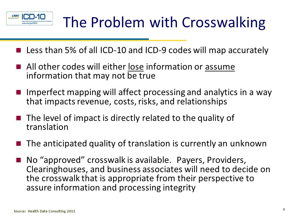 Getting to the Crosswalk Challenges