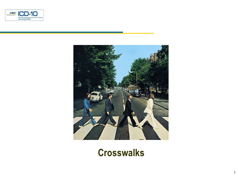 Crosswalks What Are They