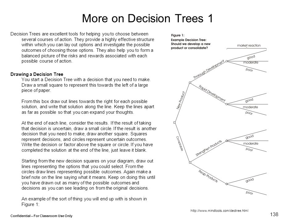 More on Decision Trees 1