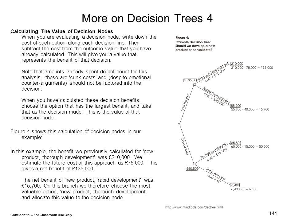 More on Decision Trees 4