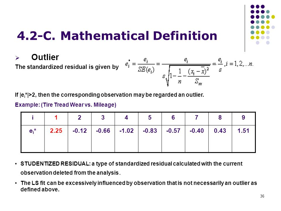 4.2-C. Mathematical Definition