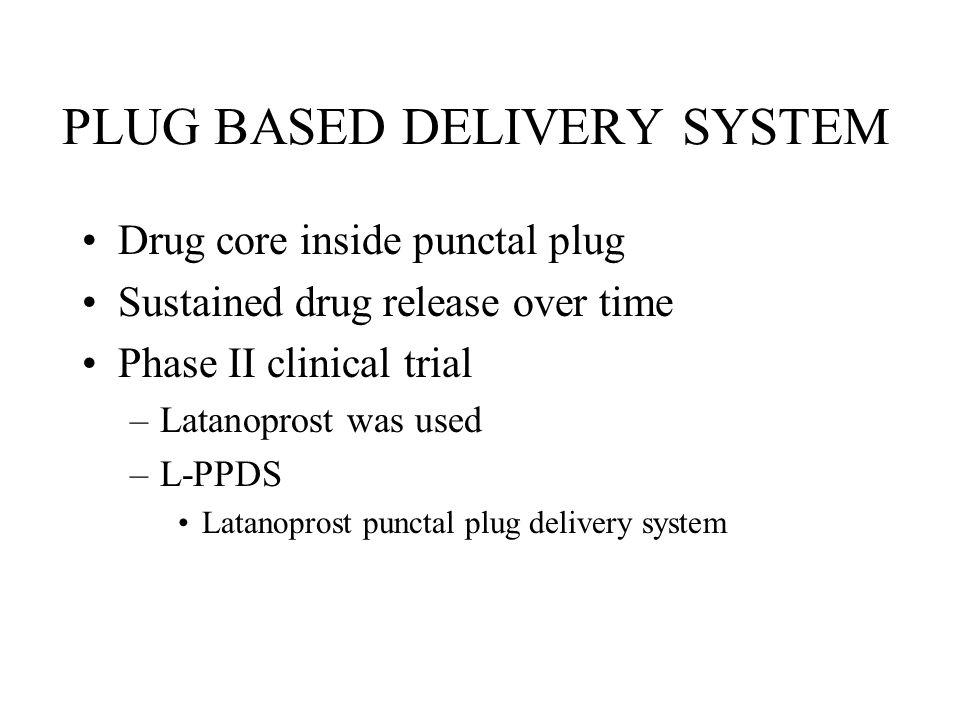 PLUG BASED DELIVERY SYSTEM