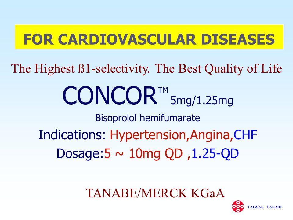 FOR CARDIOVASCULAR DISEASES