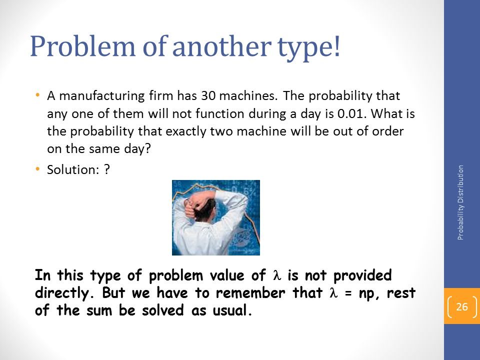 Problem of another type!