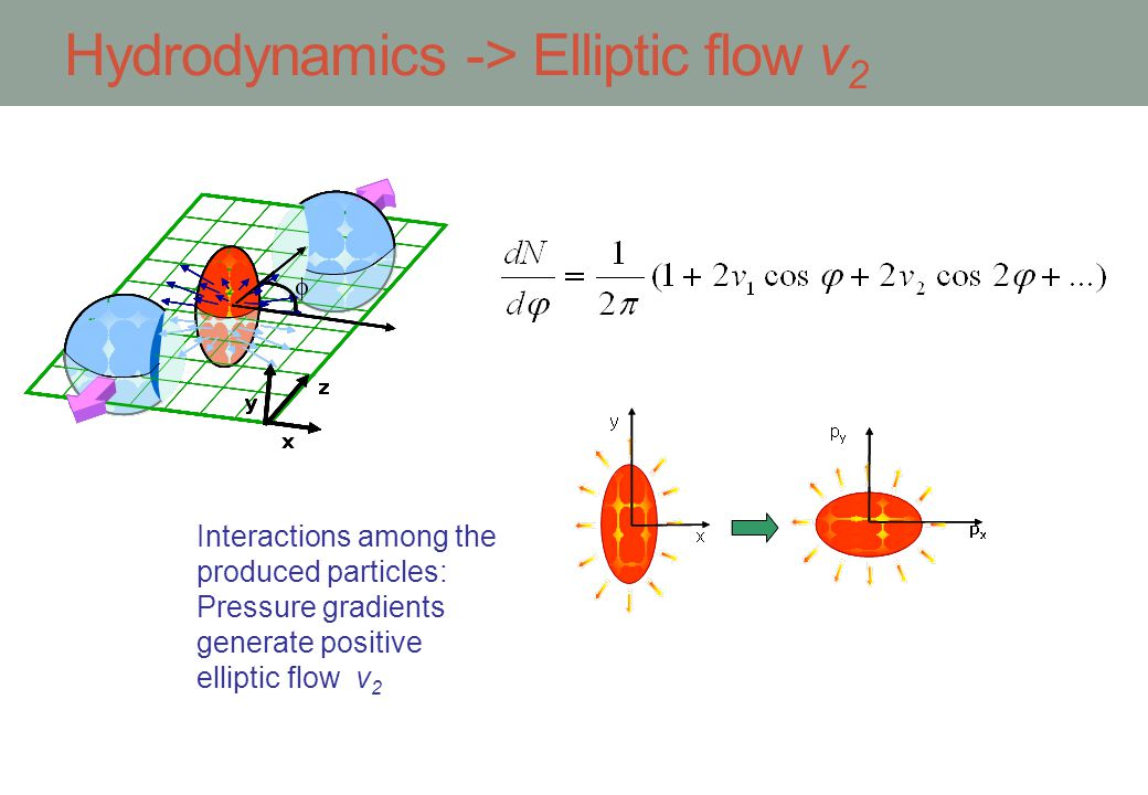 Hydrodynamics -> Elliptic flow v2