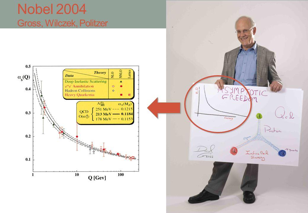 Nobel 2004 Gross, Wilczek, Politzer