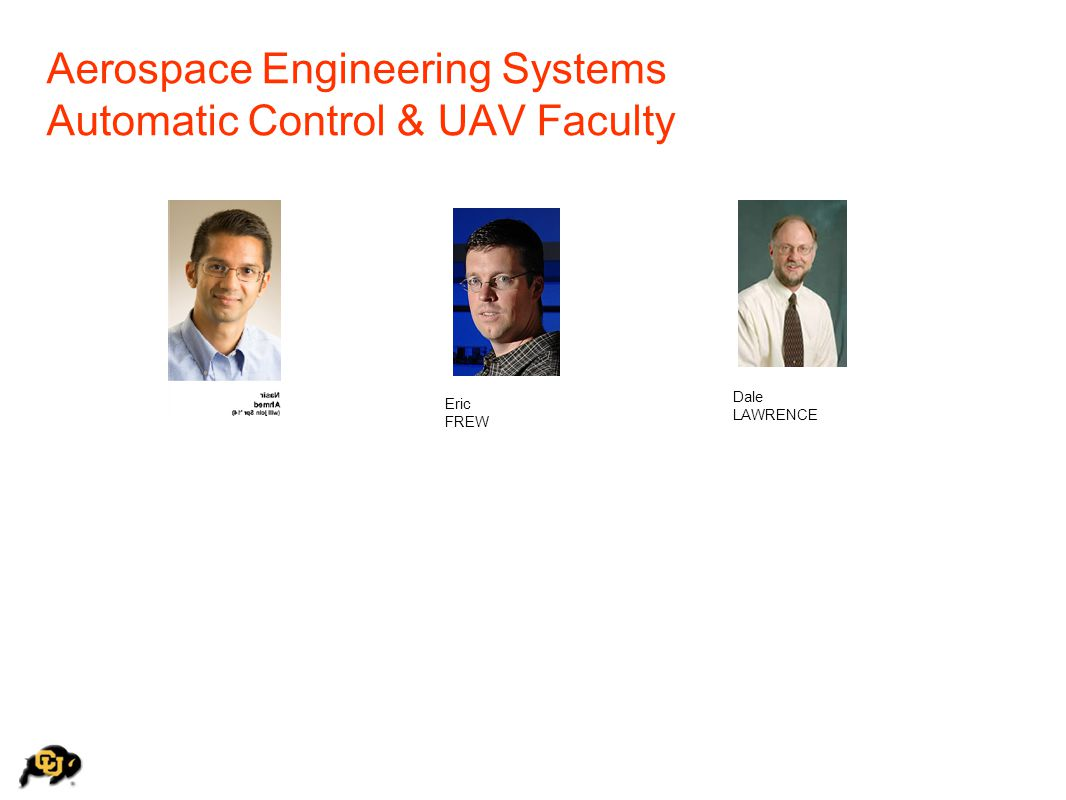 Aerospace Engineering Systems Automatic Control & UAV Faculty