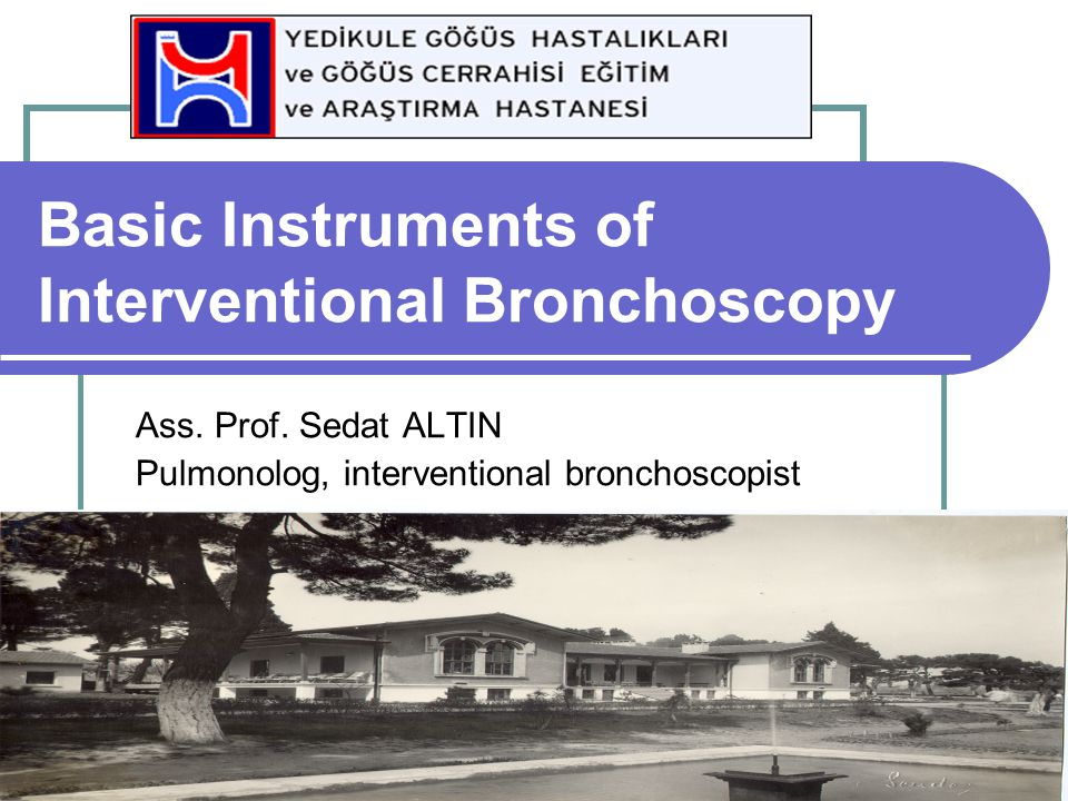 Basic Instruments of Interventional Bronchoscopy
