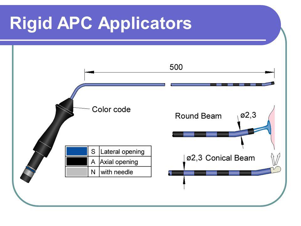 Rigid APC Applicators