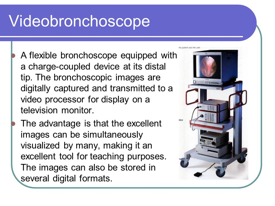 Videobronchoscope