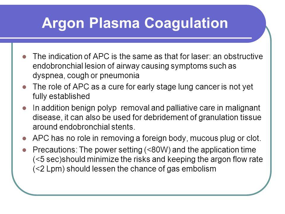 Argon Plasma Coagulation