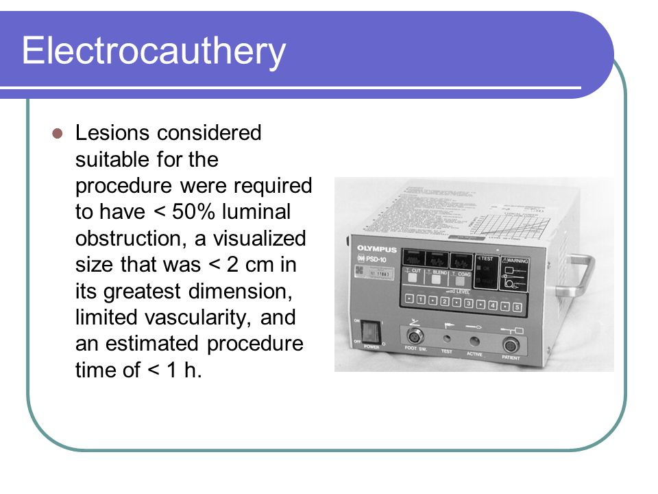 Electrocauthery