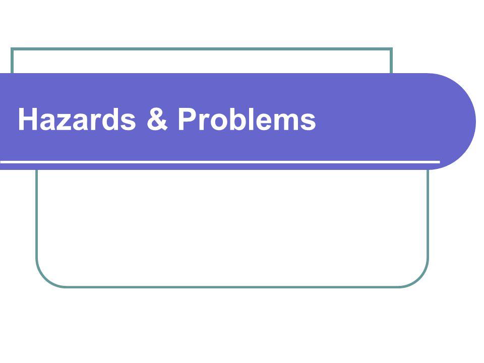 Hazards & Problems
