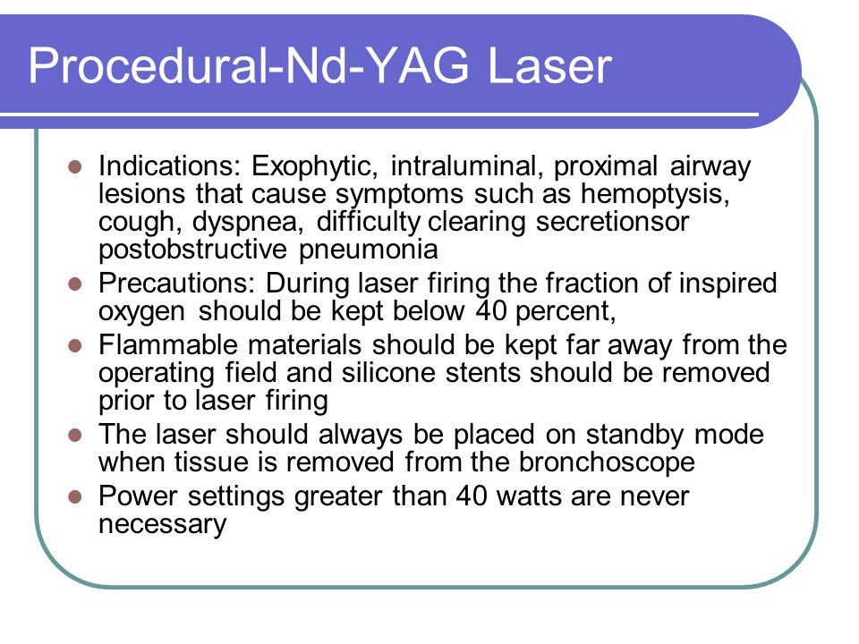 Procedural-Nd-YAG Laser