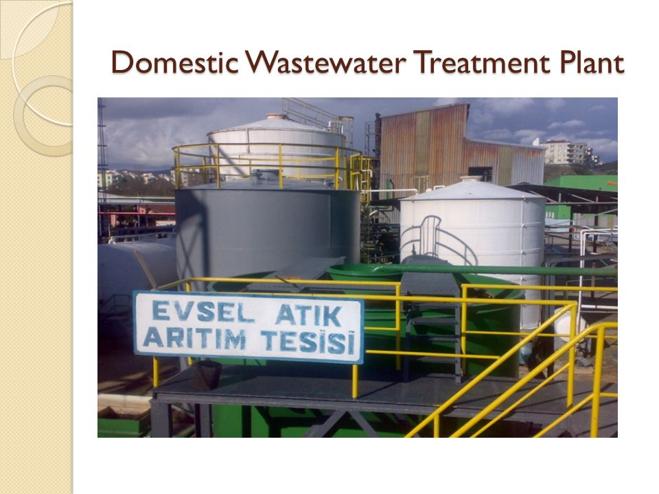Domestic Wastewater Treatment Plant