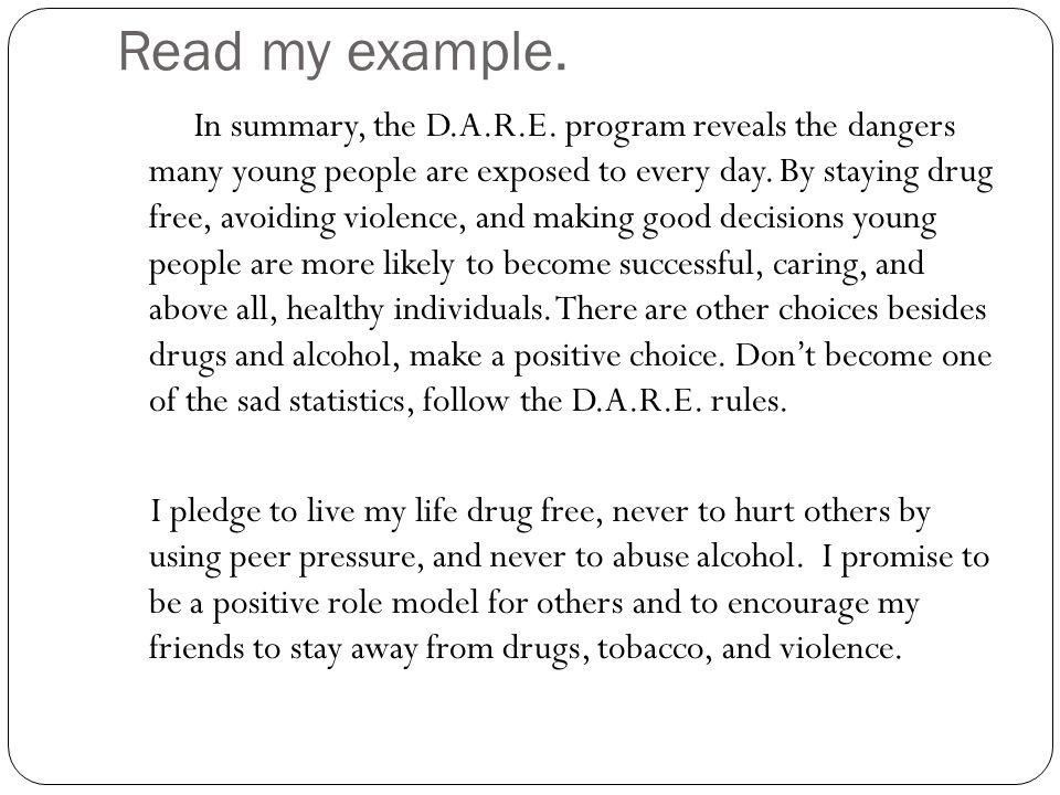 Choice essay example