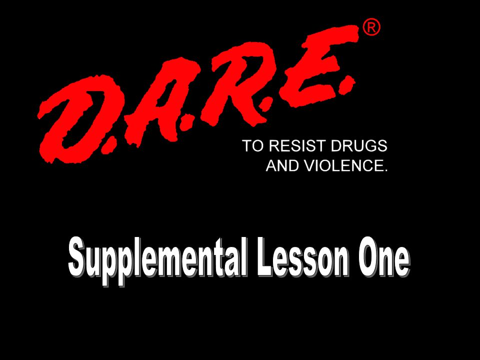 Supplemental Lesson One