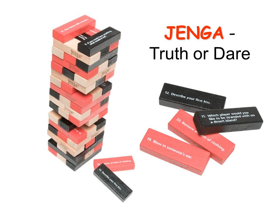 JENGA - Truth or Dare