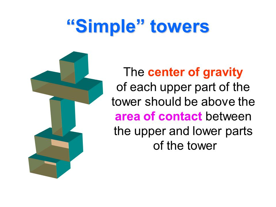 Simple towers