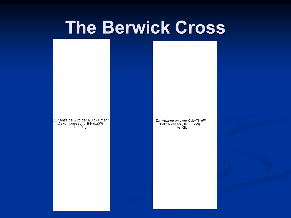 The Berwick Cross