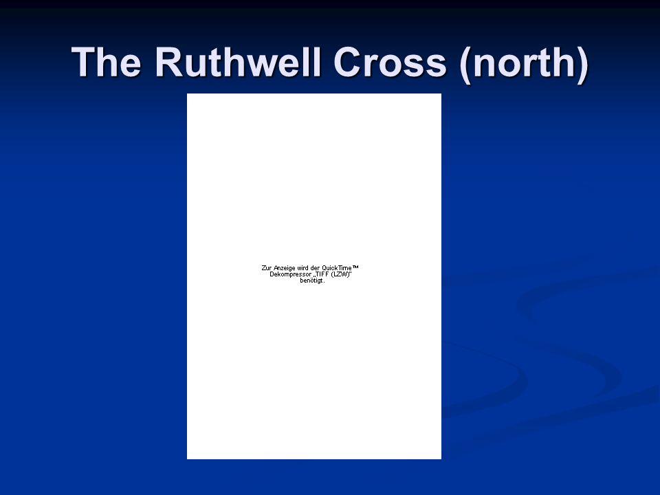 The Ruthwell Cross (north)