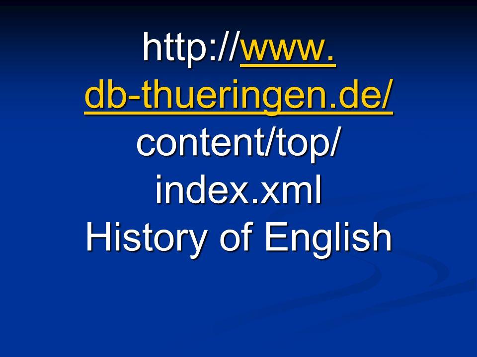 http://www. db-thueringen. de/ content/top/ index
