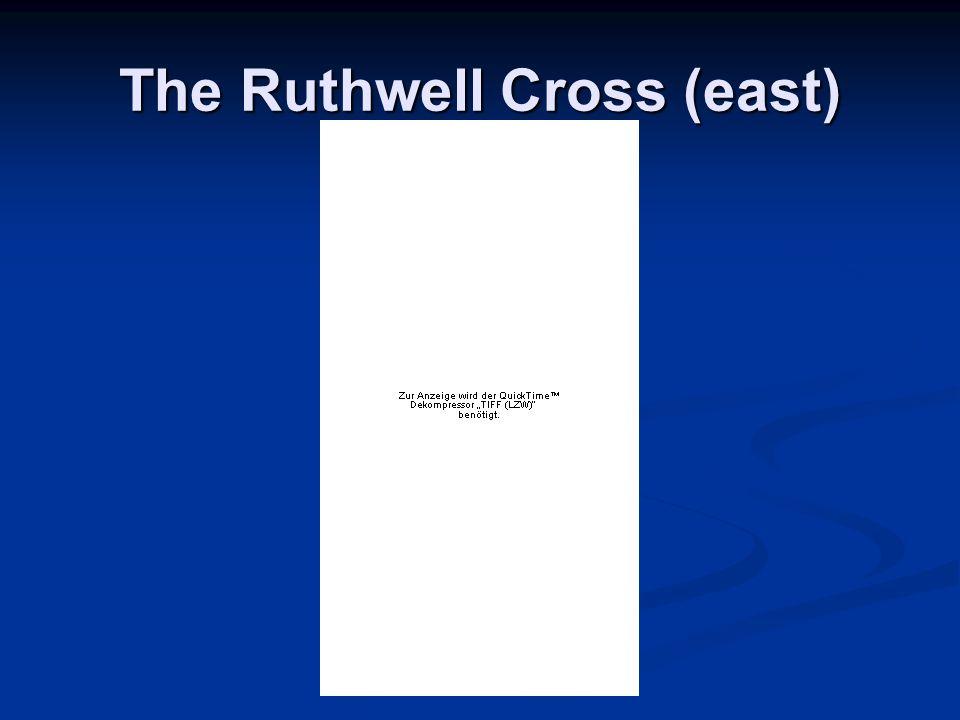 The Ruthwell Cross (east)