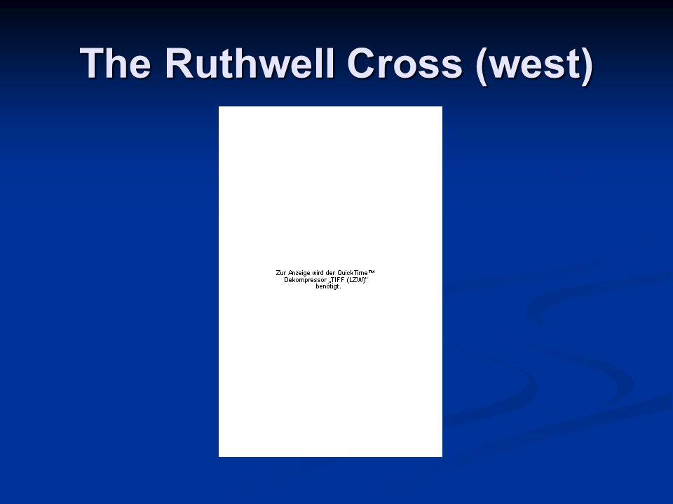 The Ruthwell Cross (west)