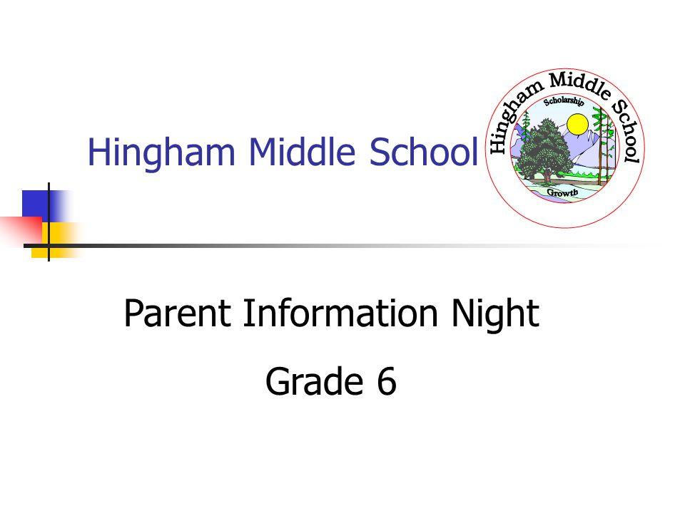 Parent Information Night
