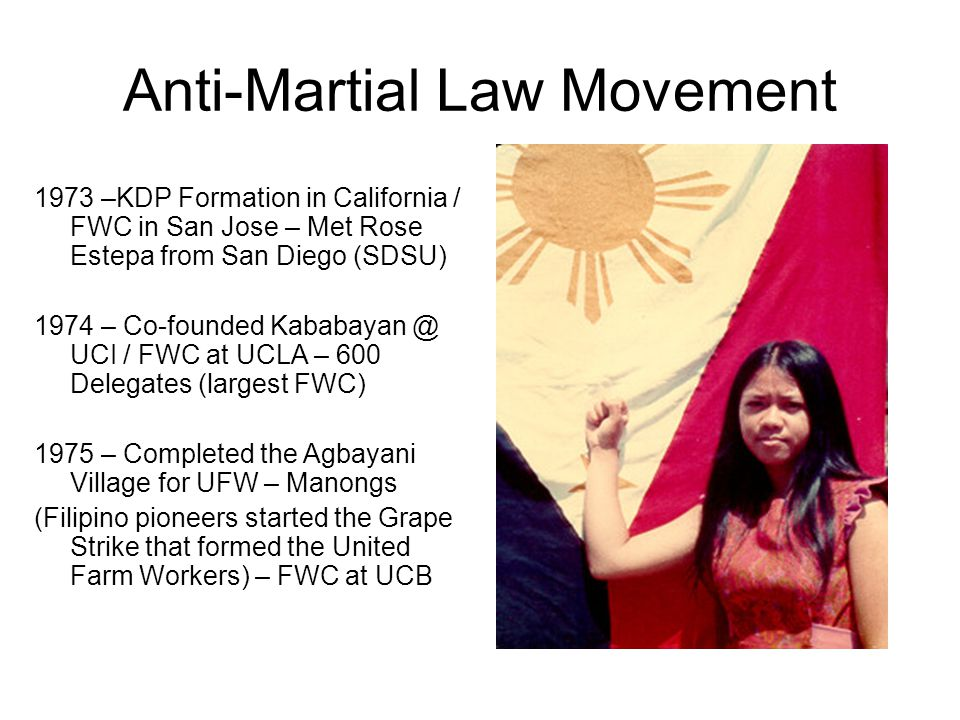 Anti-Martial Law Movement