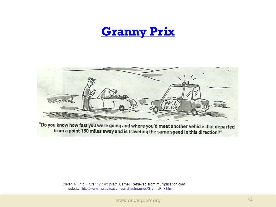 Granny Prix Presenter Notes: Granny Prix is a fun activity for students to work on fluency.