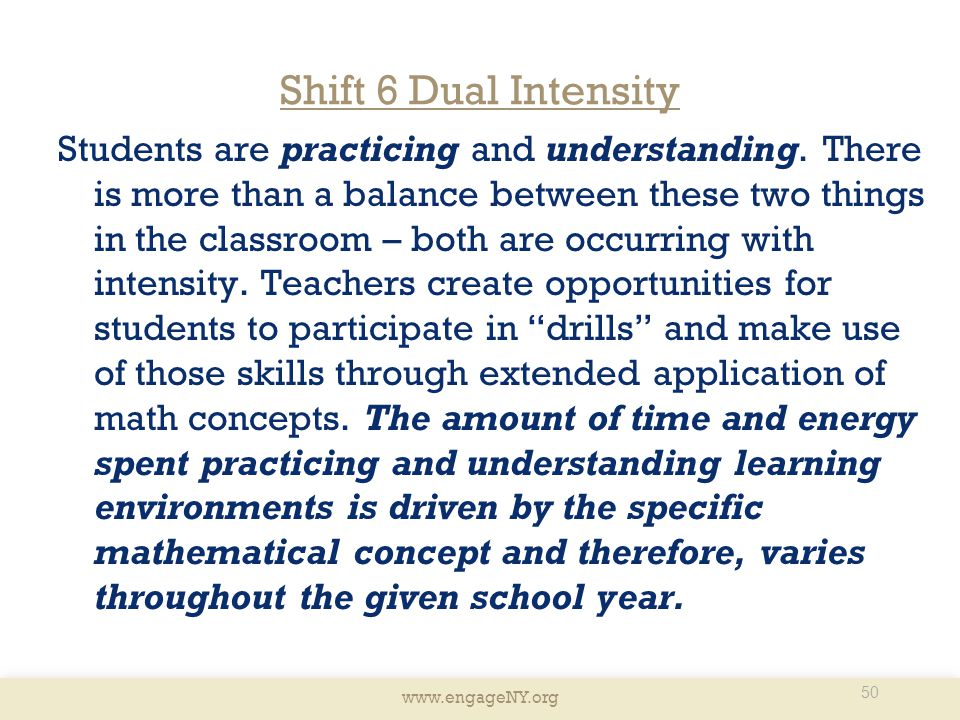 Shift 6 Dual Intensity