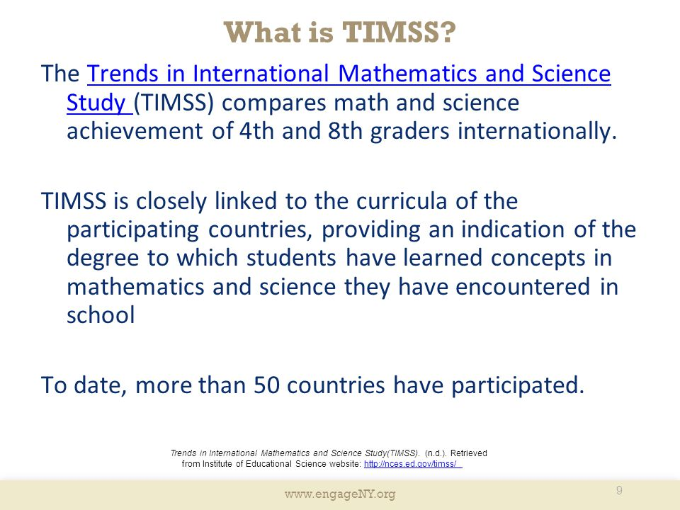 What is TIMSS