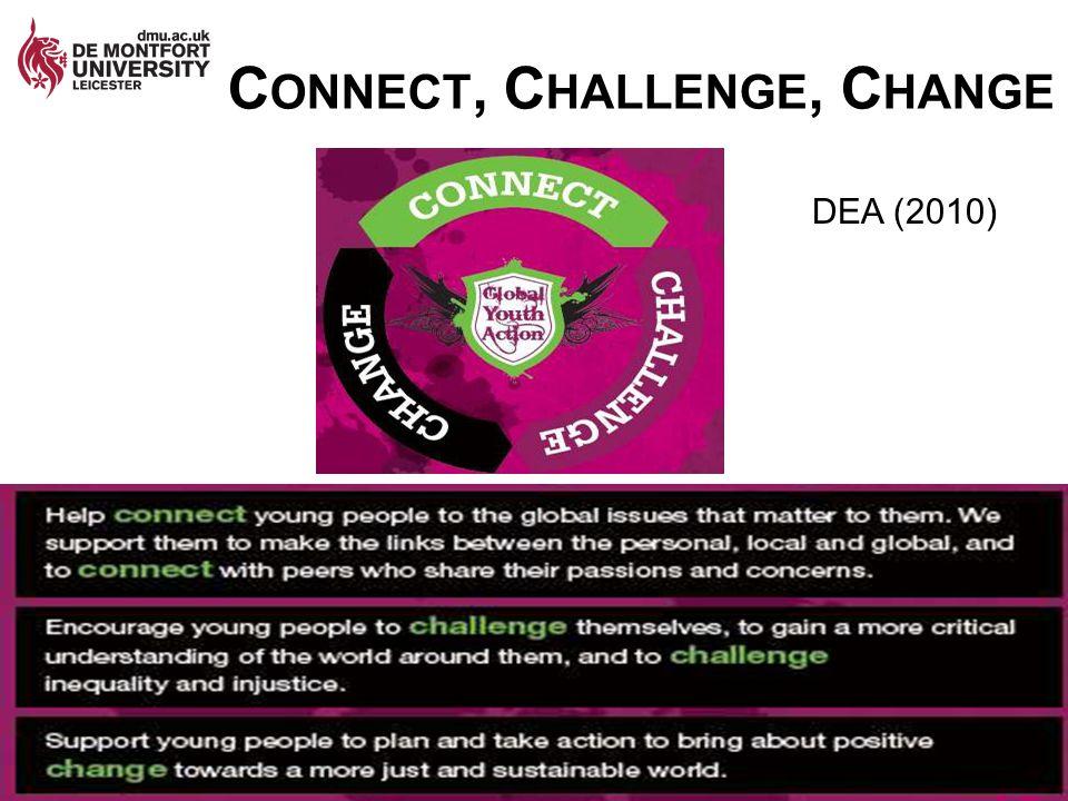 Connect, Challenge, Change
