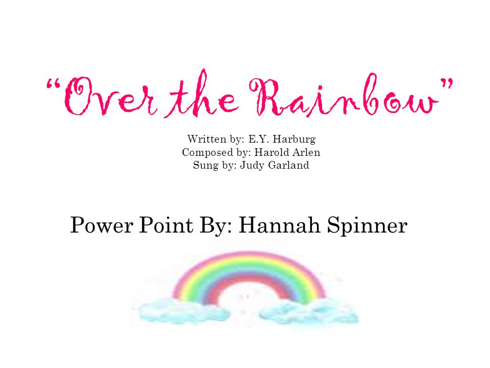 Power Point By: Hannah Spinner