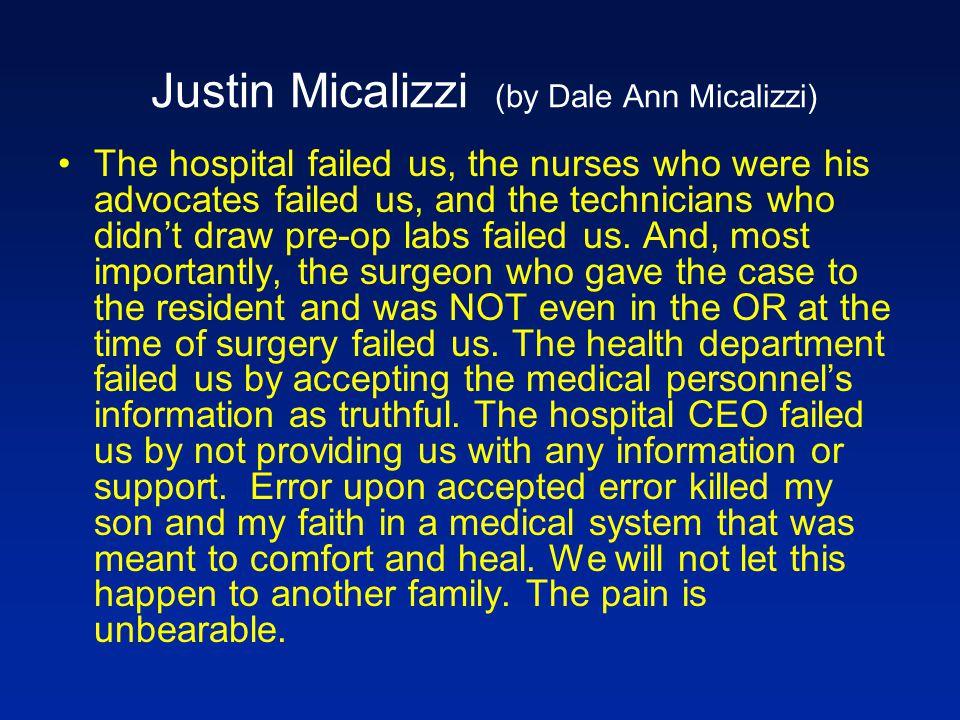 Justin Micalizzi (by Dale Ann Micalizzi)