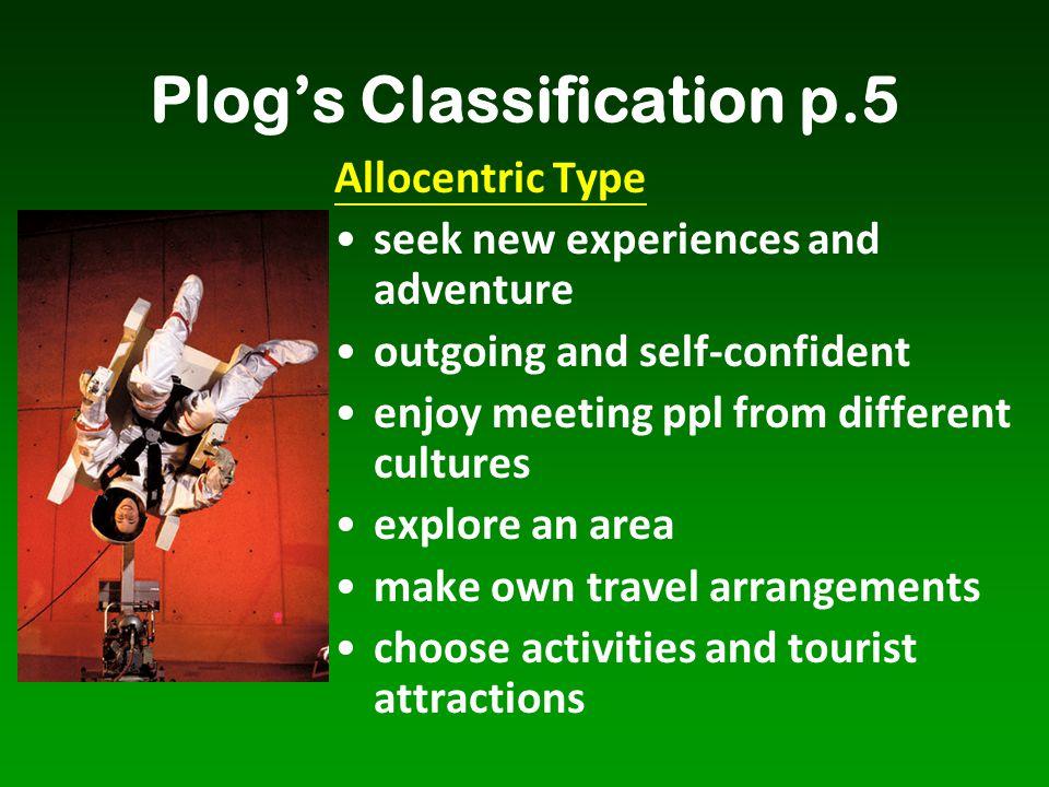 Plog's Classification p.5