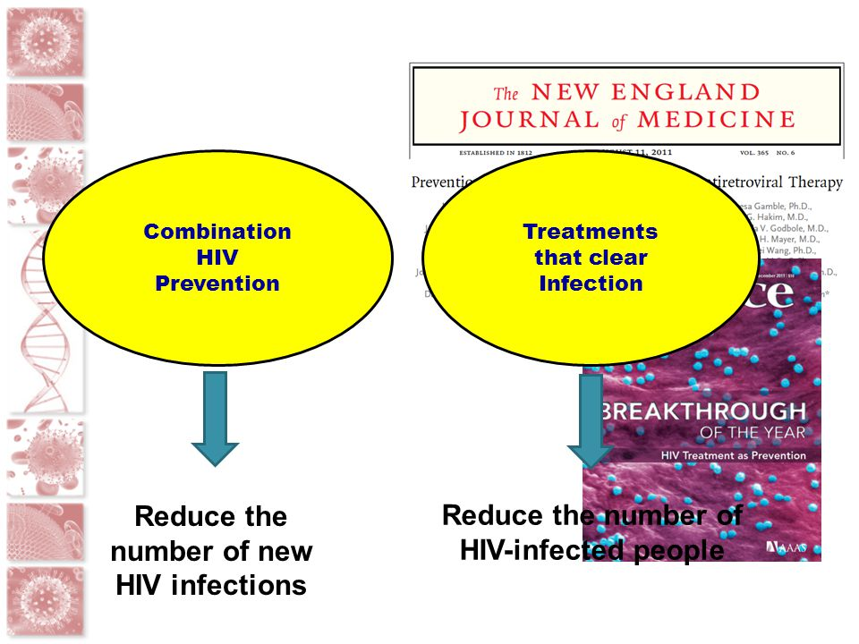 Reduce the number of new HIV infections