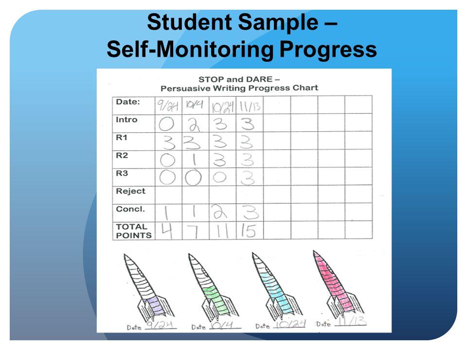 Self-Monitoring Progress