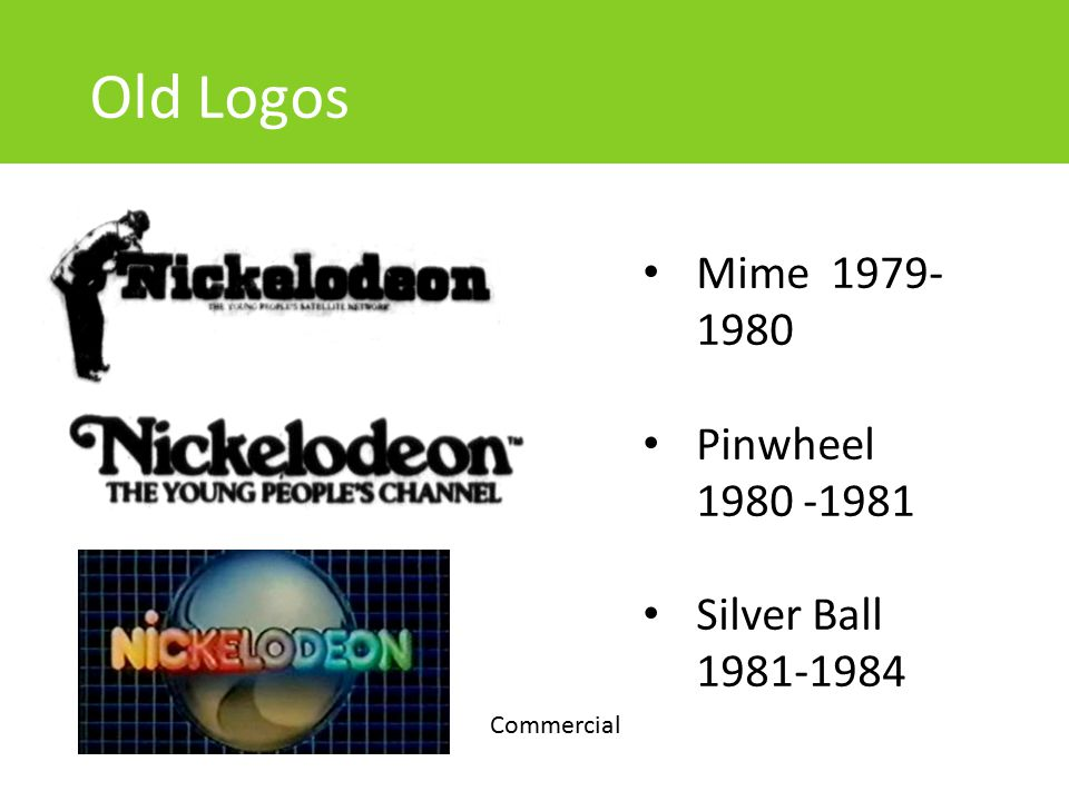 Old Logos Mime 1979-1980 Pinwheel 1980 -1981 Silver Ball 1981-1984
