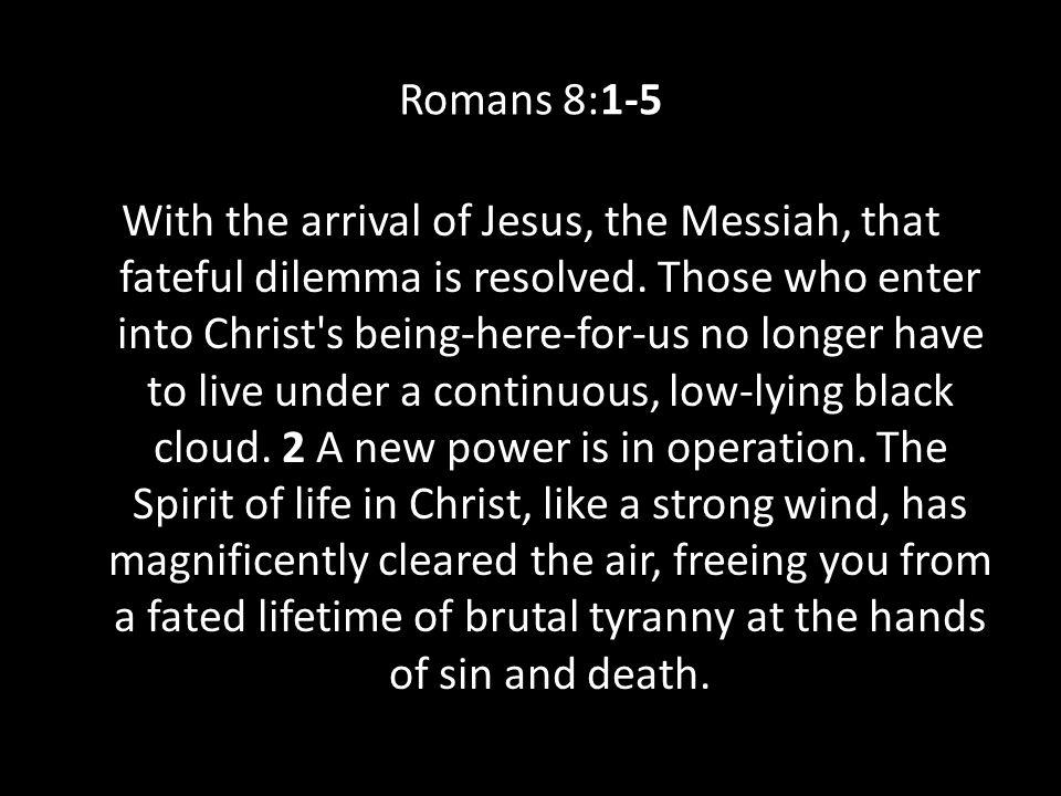 Romans 8:1-5