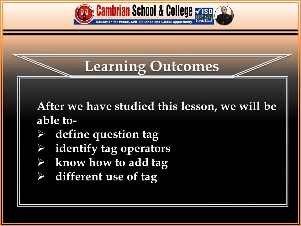 Students will achieve the aims from this lesson.