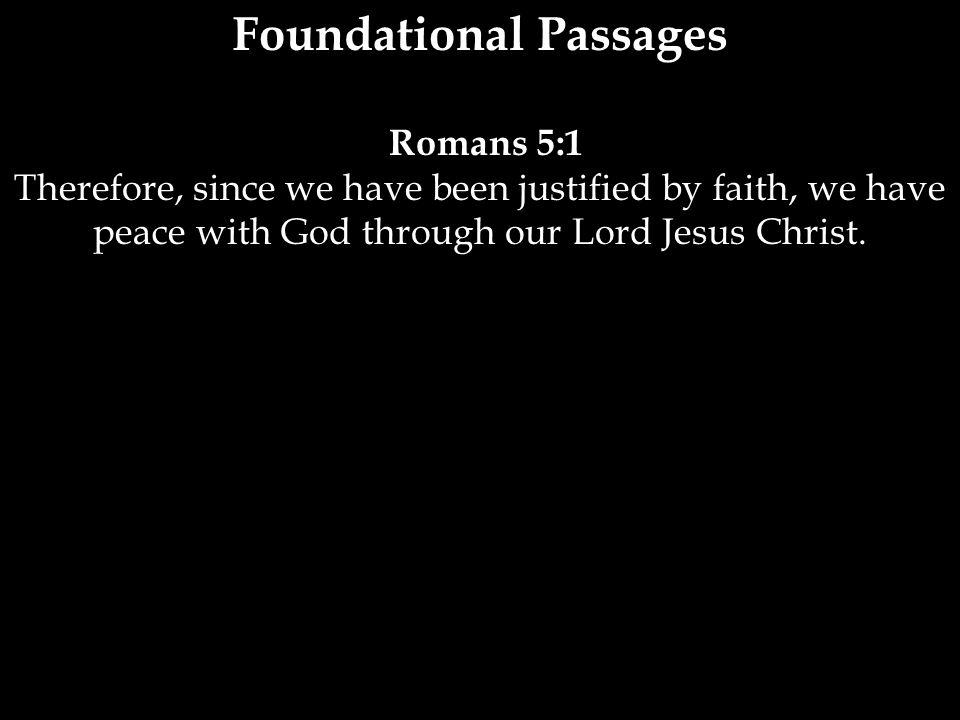 Foundational Passages