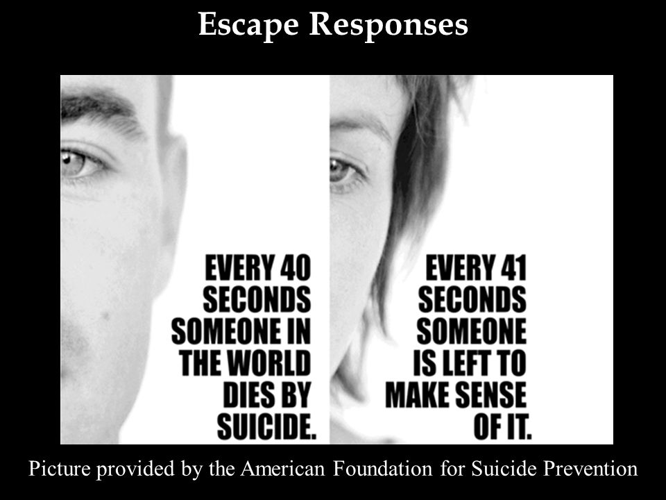 Picture provided by the American Foundation for Suicide Prevention