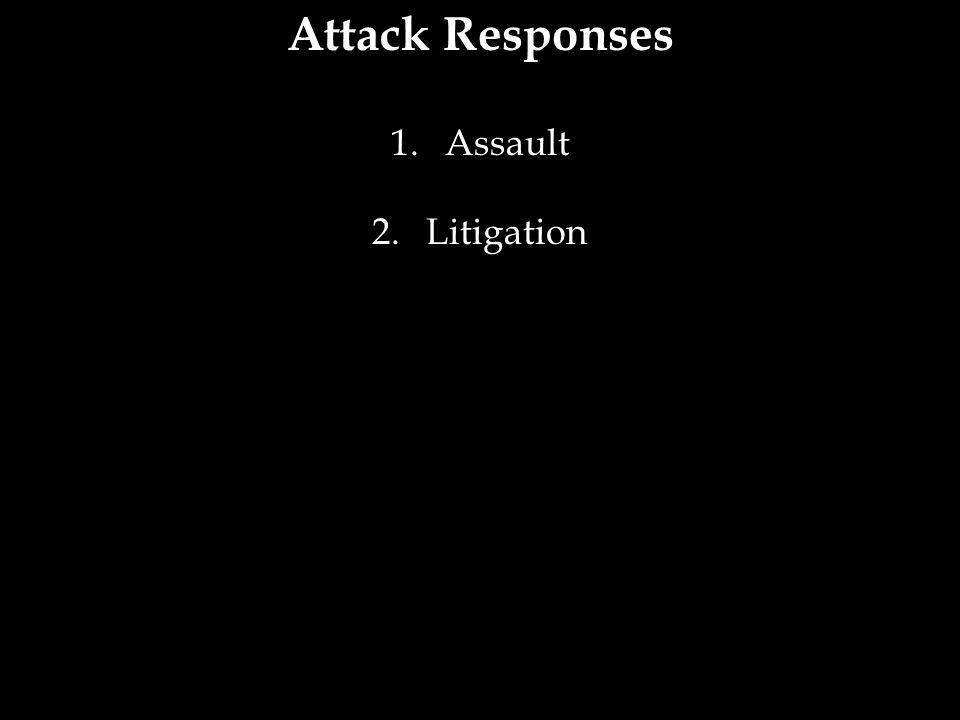 Attack Responses Assault Litigation 27