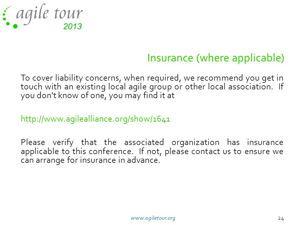 Insurance (where applicable)