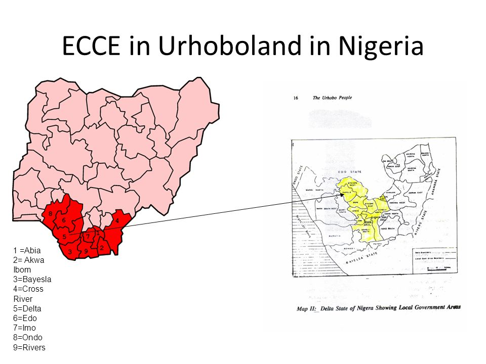 ECCE in Urhoboland in Nigeria